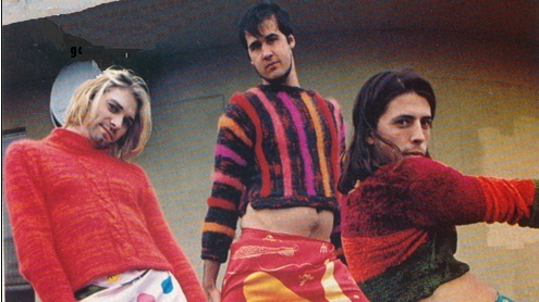 Nirvana in girls' clothes.