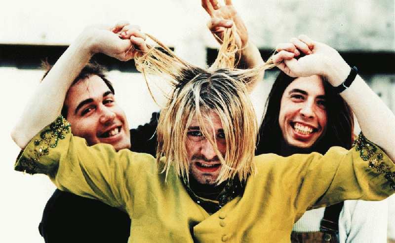 Grabbing Kurt's hair.