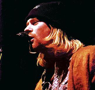 Kurt with a hat on. Ya know, this is the actual only time I've ever seen Kurt with a hat on. Damn !!!!