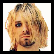 Kurt looks so cool with make-up on, don't he??